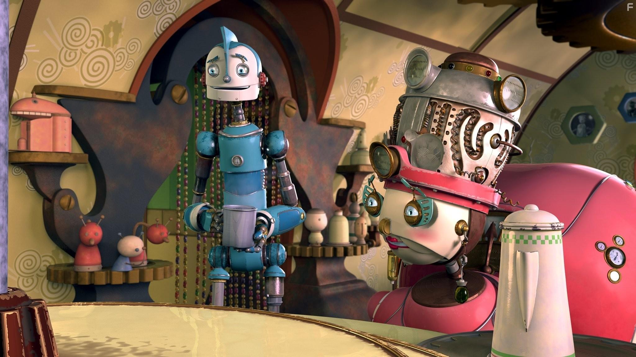 Картинки из мультфильма роботы