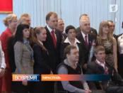 Президент Евгений Шевчук лично вручил государственные награды спортсменам