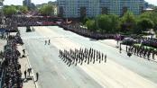 Выступление Роты почетного караула в честь 70-летия Победы в Великой Отечественной войне